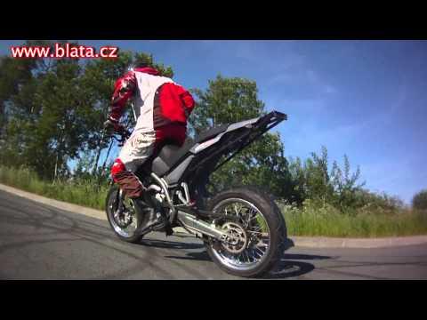Blata 125 BXM - stunt ride