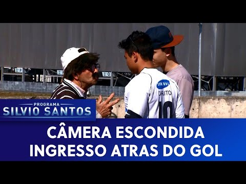 Ingresso atrás do gol | Câmeras Escondidas (03/01/20)