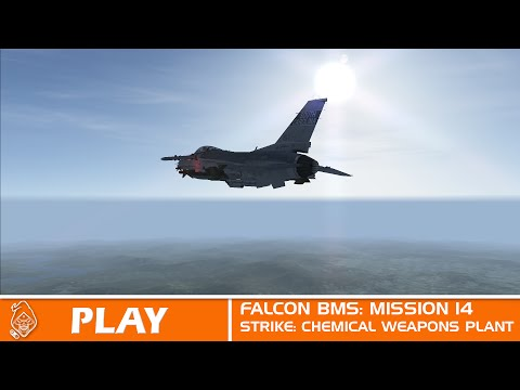 Falcon BMS STRIKE: CHEMICAL WEAPONS PLANT