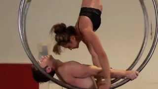 Aerial Act: Michael McNamara Marina Tomanova Aerial Hoop Duet.m4v