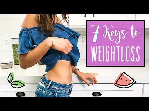 7 POWERFUL KEYS TO LOSE WEIGHT