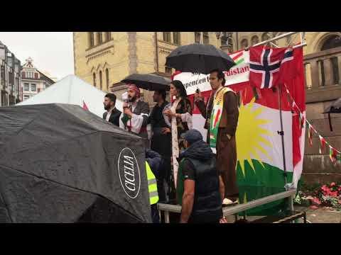 Historical demonstration for an independent Kurdistan