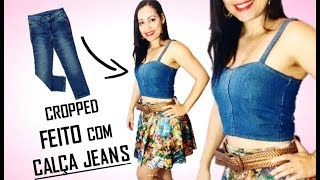 HOW TO MAKE CROPPED WITH JEANS