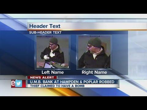 UMB Bank robbed on morning of Christmas Eve