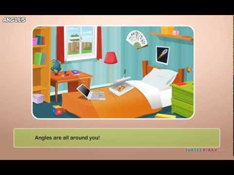Angles - Acute, Obtuse, Right, Straight | Math Lesson for Grade 2