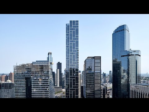 Melbourne's Prefabricated Super-Slender Skyscraper