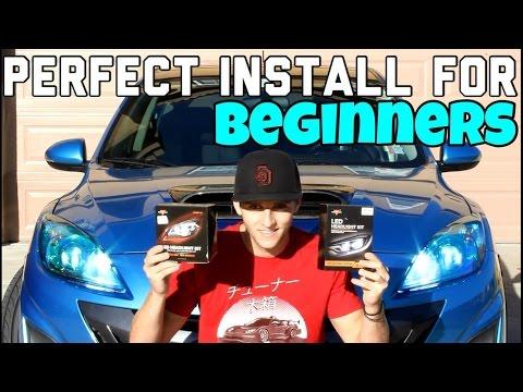 Easy and Cheap - LED Headlight Bulb Install