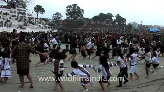 Cutest north-east Indian kids dancing at Chapchar kut festival