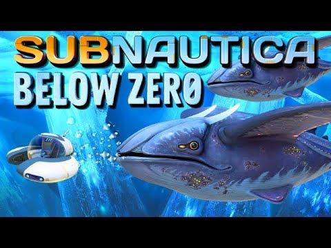 Subnautica Below Zero Gameplay German 06 Seemotte Und Riesen Wale