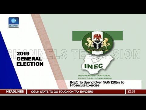 INEC To Spend Over NGN120bn To Prosecute 2019 Elections Pt.3 |News@10| 21/03/18