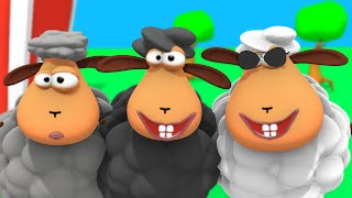 Baa baa black sheep have you any whool - Children's nursery rhyme song