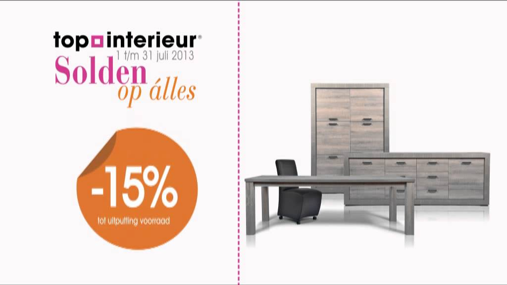 Top Interieur Solden juli 2013 - YouTube
