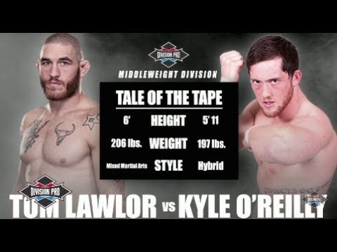 Division Pro: Tom Lawlor vs Kyle O'Reilly Middleweight Division