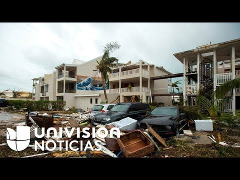 La devastación que provocó el huracán Irma durante su paso por Barbuda y San Martín