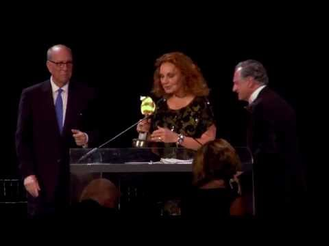 Diane von Furstenberg Accepts 2015 B.C. Forbes Peopling of America Award