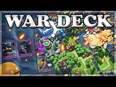 How to Build War Decks  Clash Royale 🍊