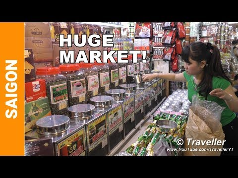 Ho Chi Minh City Attractions - Ben Thanh Market - Saigon Attractions - Bến Thành Market