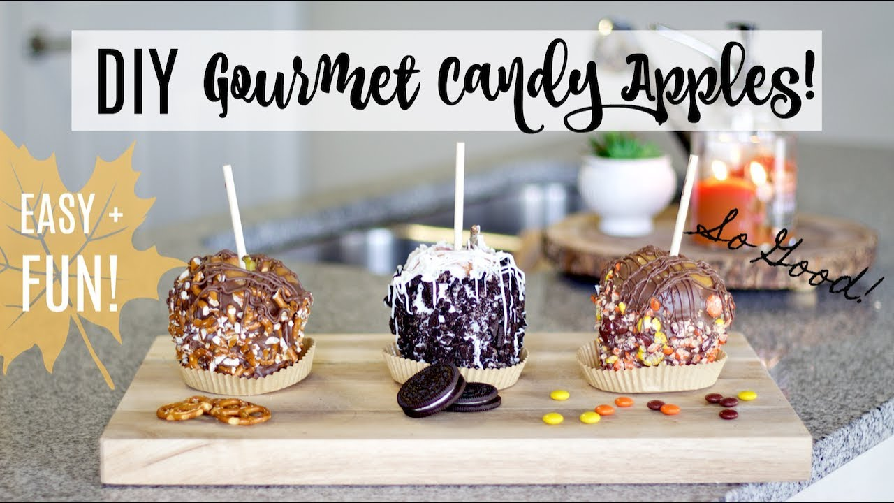 How to make caramel apples with peters