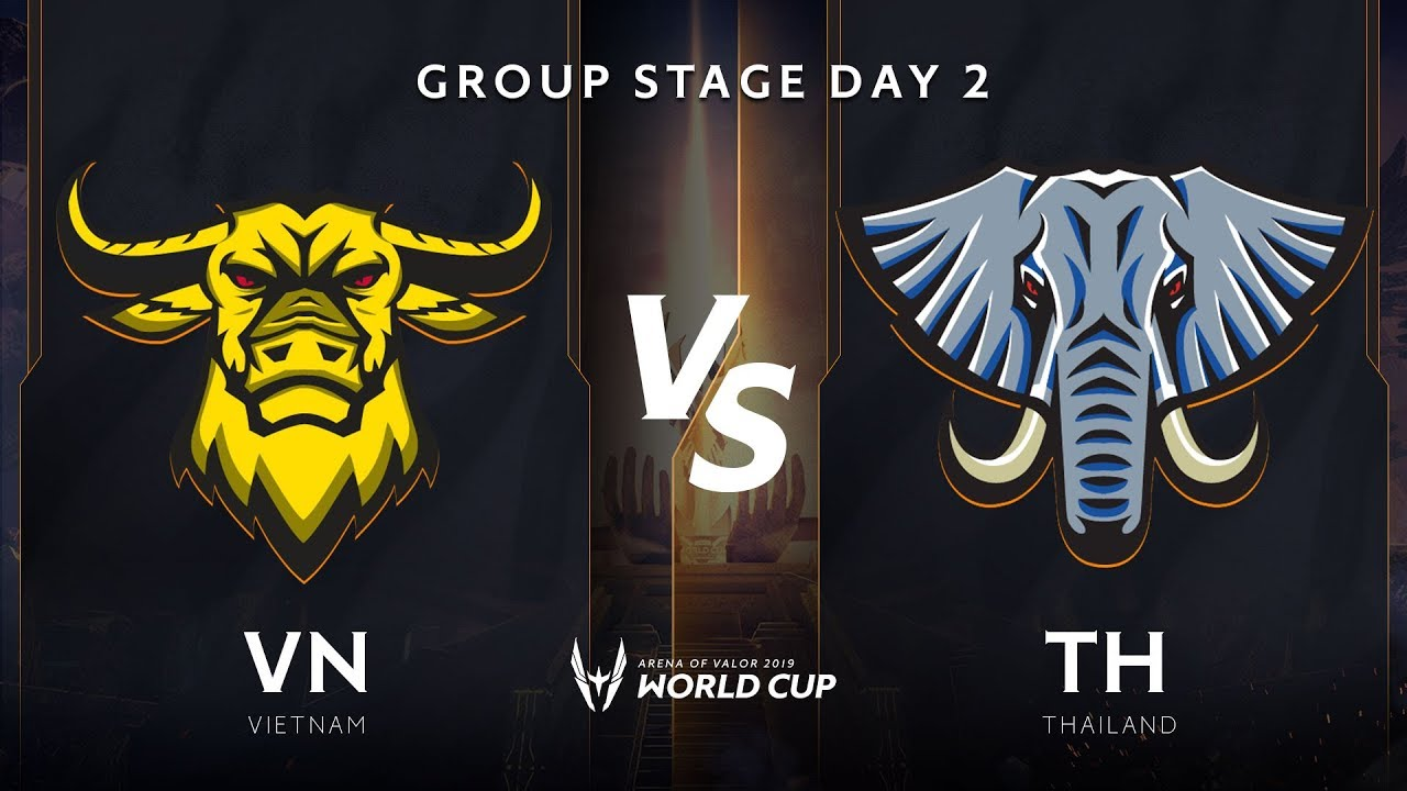 Việt Nam vs Thái Lan- Bảng B - Vòng bảng giải đấu AWC 2019 - Garena Liên Quân Mobile