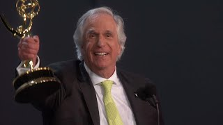70th Emmy Awards: Henry Winkler Wins For Outstanding Supporting Actor In A Comedy Series