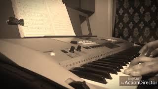 Mone pore rubi roy (cover) on keyboard