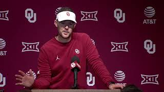 OU Football - Lincoln Riley press conference after win over Iowa State