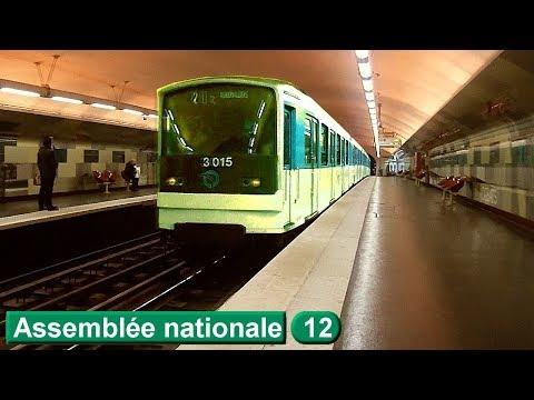 Métro de Paris : Assemblée nationale | Ligne 12 ( RATP MF67 )