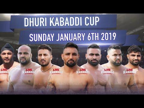 🔴LIVE Dhuri (Sangrur) Kabaddi Cup 2019 | LIVE KABADDI
