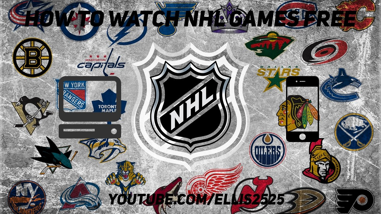 How to Watch Stream NHL Hockey Games for FREE (Computer 2ad118fb71b