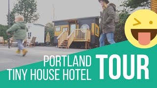 Tiny House Tours In Portland, Oregon: Hotels, Caravans & Off Grid Thow Building Inspiration