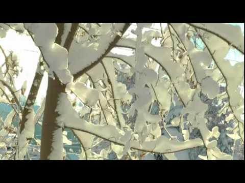 Massenweise Schnee im Erzgebirge