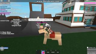 🐴 Trolling on Roblox - I'M REPORTING YOU FOR STEALING MY HORSE! 🐴