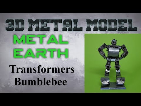 Metal Earth Build - Transformers Bumblebee