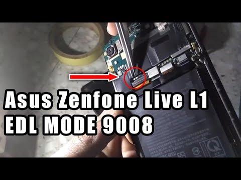 Asus Zenfone Live L1 ZA550KL EDL Mode 9008 Test Point
