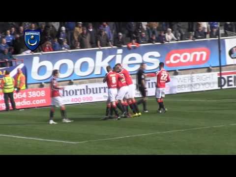 Highlights: Morecambe 3-1 Portsmouth