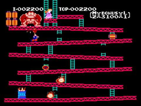 Download Youtube: Donkey Kong (Original) Full Playthrough (US NES Version)