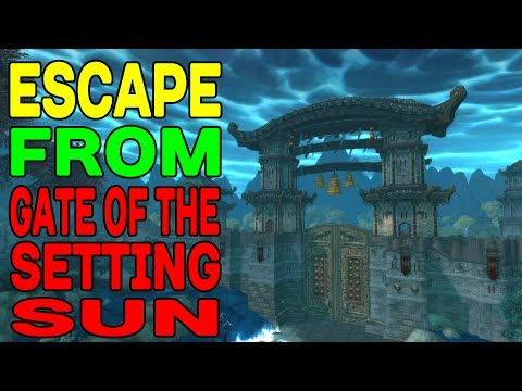 WoW SECRET: Escape from Gate of the Setting Sun !!