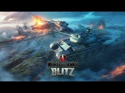 WoT - Немая Девушка играет в World of Tanks Blitz