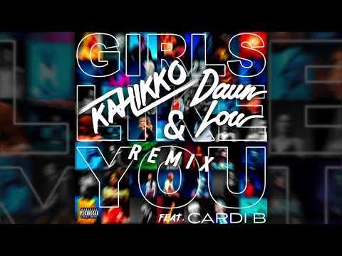 Maroon 5 - Girls Like You ft. Cardi B (Kahikko & Daun Lou Remix)