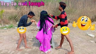 MUST WATCH NEW FUNNY 🤣🤣 COMEDY VIDEO 2019 FULL ENTRAINMENT VIDEO