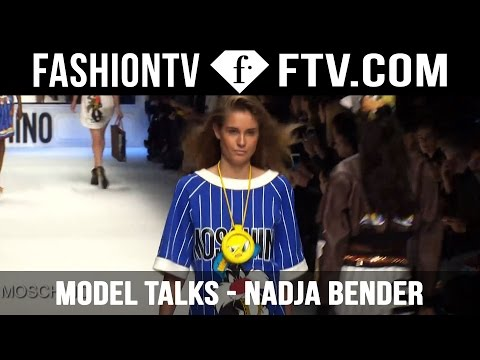 Model Talks with Danish Beauty Nadja Bender | FTV.com