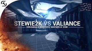 Stewie2K vs Valiance - DreamHack Masters Marseille 2018