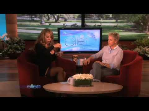 Mariah Carey on Ellen & talks about
