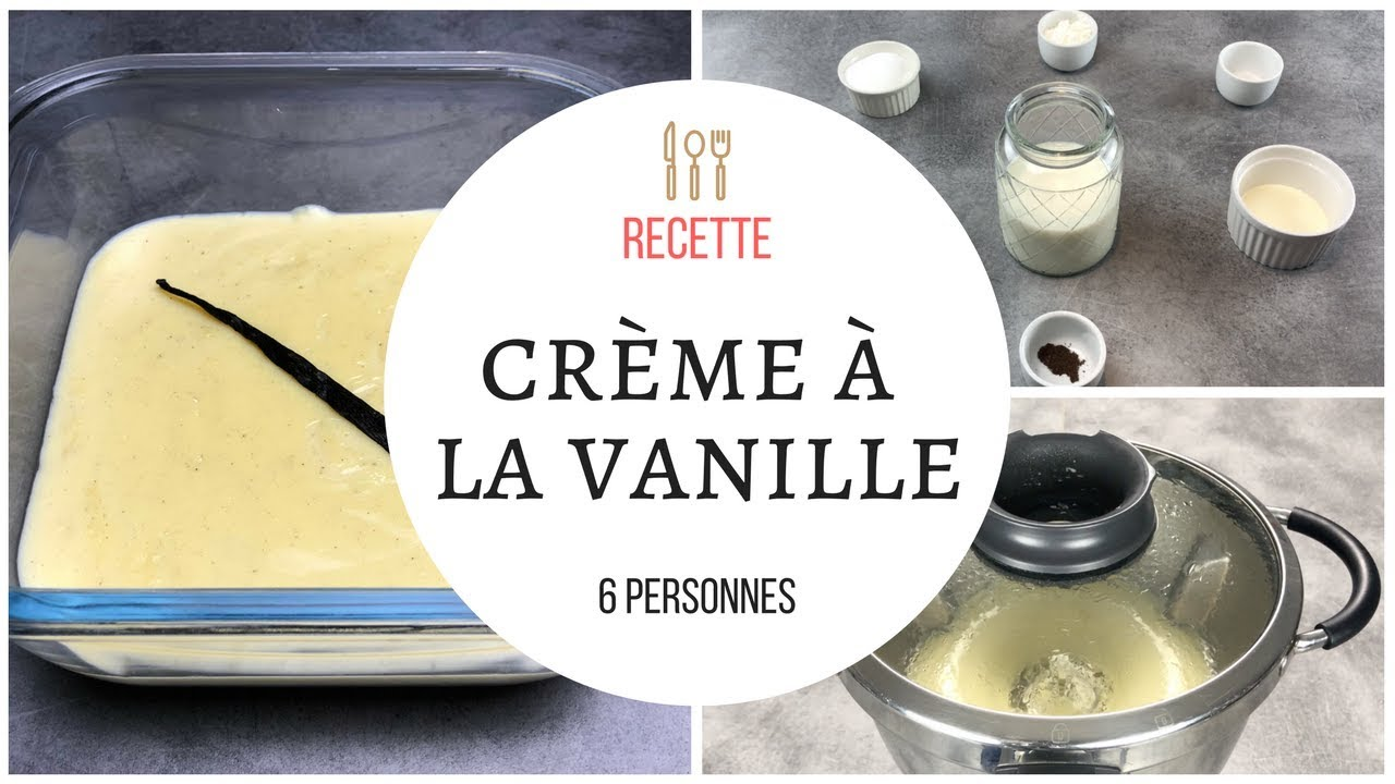 cr me dessert vanille maison fa on danette au cook expert magimix thermomix youtube. Black Bedroom Furniture Sets. Home Design Ideas