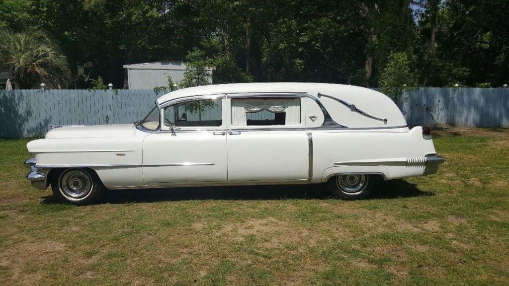 1956 Cadillac Deville Superior Hearse Youtube