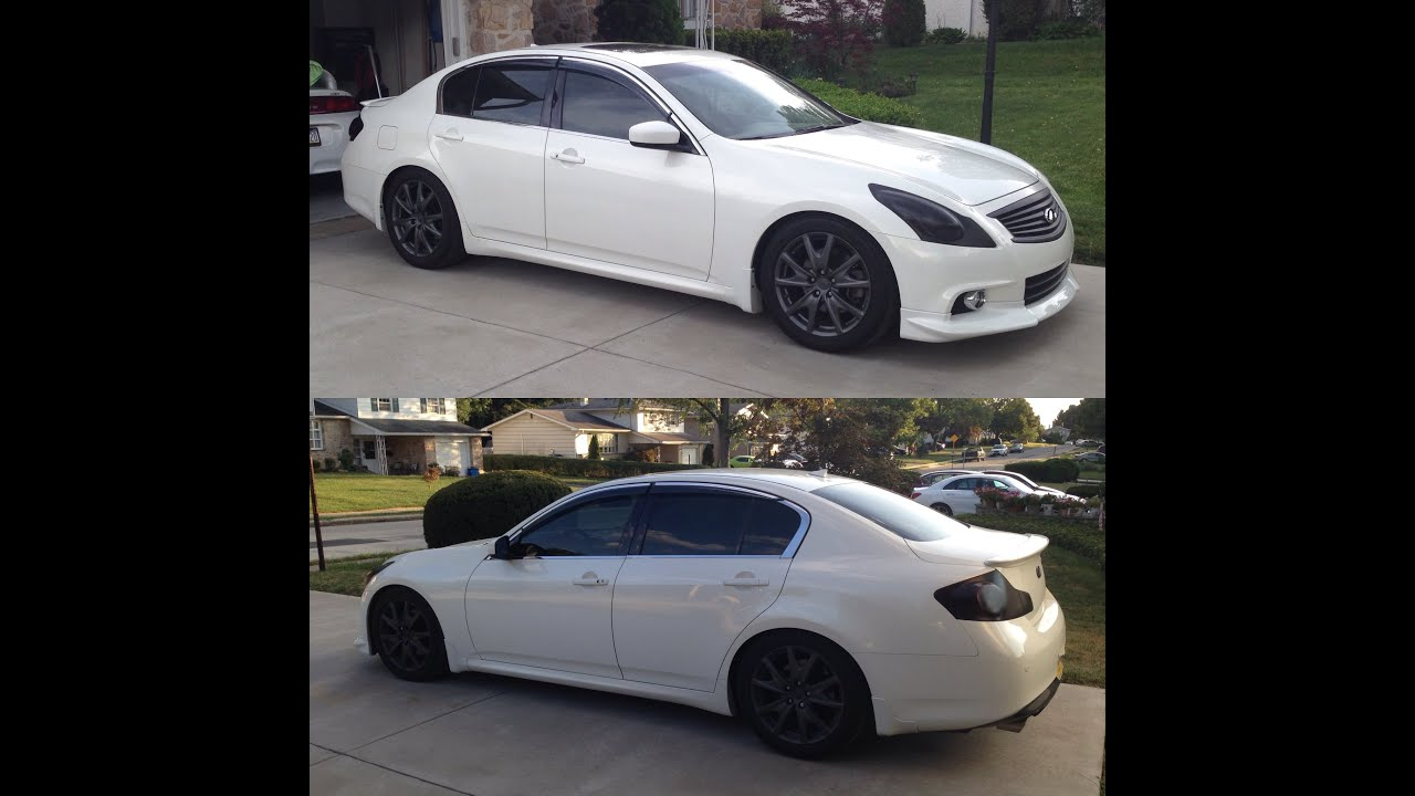 Modified 2010 Infiniti G37xs Walk Around Youtube