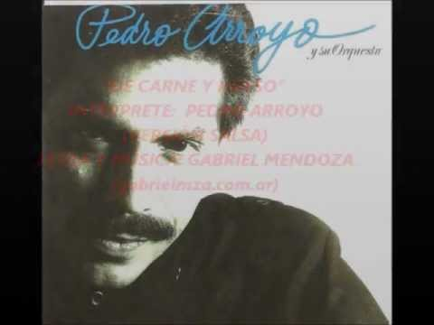 """PEDRO ARROYO - """"DE CARNE Y HUESO"""" - versión salsa -  (GABRIEL MENDOZA MÚSICA)"""