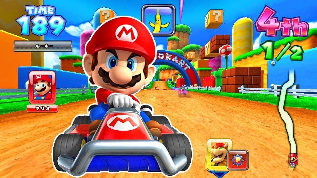 Ciudad Menda Rendición siete y media  Mario Bros - Juegos Para Niños Pequeños - Mario Kart - YouTube