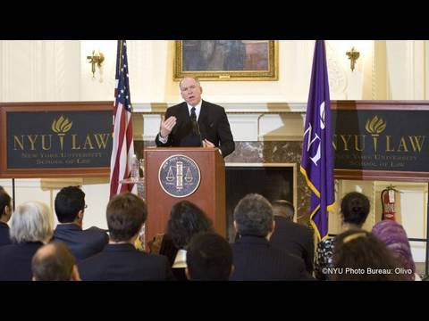 John Brennan Speaks on National Security at NYU