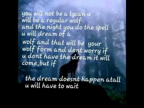 Werewolf spell *tested really works* - YouTube